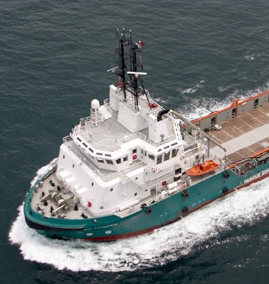 INTREPID DP 2 Anchor Handling Tug Supply Vessel 85 Metric Ton Bollard Pull 150 Metric Ton Line Pull winch